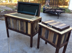 Pallet Wood Coolers
